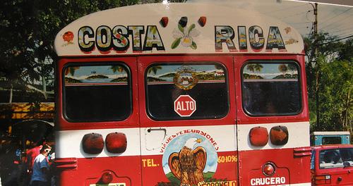 Costa Rica public transportation