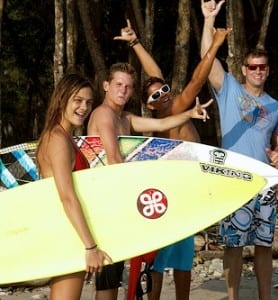 Del Mar Surfing Academy Costa Rica teen camps