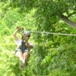 Enjoy a canopy tour near Pranamar Villas