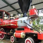 Trainforest's replica steam engine