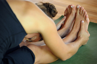 Relax and restore on a yoga retreat