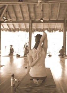 The practice of yoga comes from ancient India