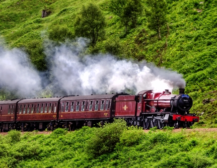 Experience the romance of steam train travel