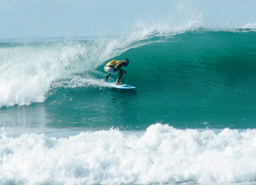 Costa Rica's Santa Teresa Beach is a surfer's dream