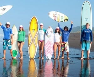 Make it a family affair - surfing vacations at Costa Rica's Santa Teresa Beach