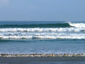 Unspoiled Santa Teresa Beach in Costa Rica is a surfer's paradise