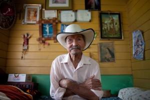 Photo by photojournalist Monica Quesada of Costa Rican centenarian