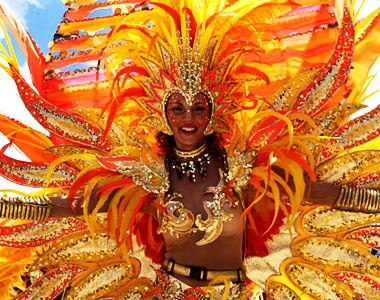 Limon Carnival in October celebrates Costa Rica's Afro-Caribbean culture