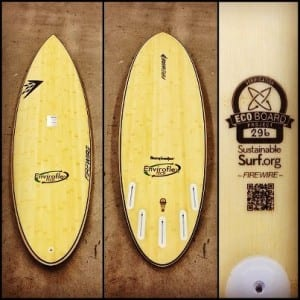 Firewire Enviroflex surfboards are certified sustainable
