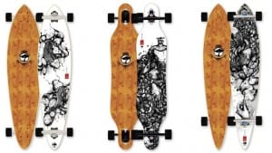 Keep up your Costa Rica surf skills on Arbor Bamboo skateboards