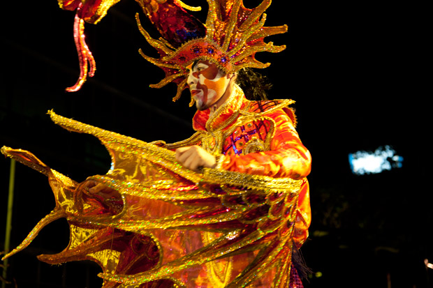San Jose, Costa Rica's Parade of Lights kicks off the holiday season