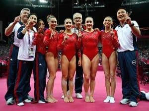 Anyone serious about what they do, like the 2012 USA Gymnastics Team, has a coach