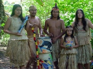 Maleku indigenous people in Costa Rica