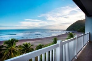 A view like this from Playa Jaco's The Palms condos can be yours!