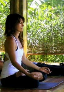 Yoga and meditation go hand-in-hand for stimulating balance and restfulness