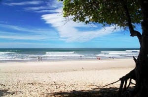 Gorgeous Santa Teresa Beach is one of Del Mar Surf Camp's Costa Rica locations