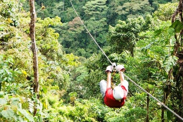 Sky Trek canopy tour at Volcano Arenal Costa Rica & 7 tours not to miss at Costa Ricau0027s Volcano Arenal u2013 Tripatini