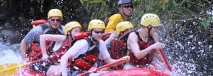 Manuel Antonio has great whitewater rafting on the Savegre and Naranjo rivers