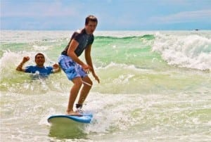 Manuel Antonio Surf School will rent boards and teach you to surf
