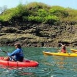 Explore the Manuel Antonio coast by kayak with H2O Adventures