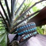 Beautiful wrap bracelets by Phyllis Warman are featured in Pranamar's gift shop
