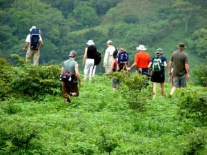 Hiking in Costa Rica is a popular nature and adventure activity