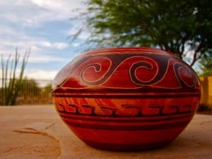 Chorotega pottery from the Nicoya Peninsula is famous in Costa Rica