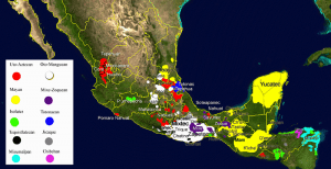 Mesoamerican languages in Central America