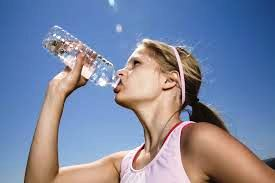 Keep well hydrated during training for top sports performance