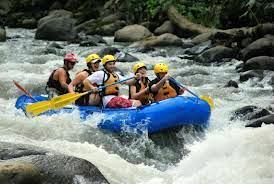 Rafting the Colorado River, Costa Rica
