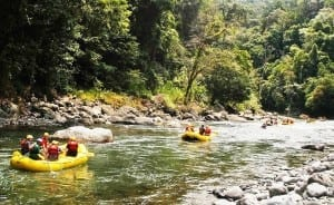 Raft Costa Rica's Pacuare River through an amazing rainforest gorge / photo by Rios Tropicales