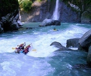 See waterfalls and rainforest rafting on the Pacuare River, Costa Rica / photo by Rios Tropicales