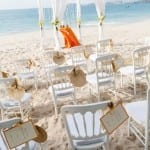 Destination Wedding at Santa Teresa Beach, Costa Rica / photo by Tropical Occasions