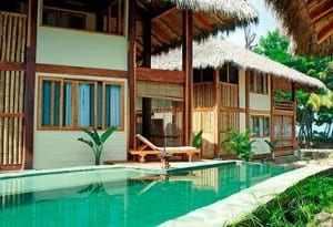 Pranamar's poolside villas on Santa Teresa Beach, Costa Rica