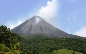 "Arenal Volcano in Costa Rica is ""sleeping"" lately"