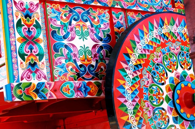 Sarchi, Costa Rica, painted oxcart
