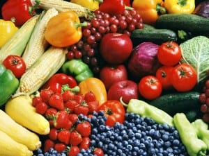 Superfoods are brightly colored fruits and vegetables