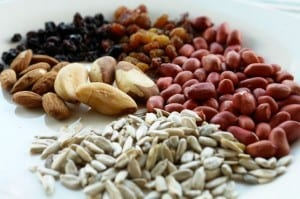 Superfoods, nuts and beans for healthy living