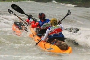 Adventure Race World Championships event kayaking, Costa Rica