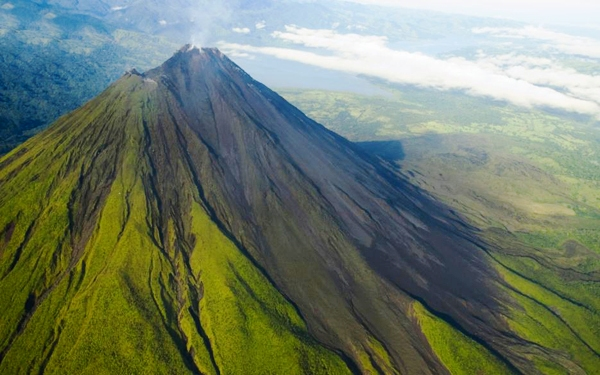 Arenal - aerial view