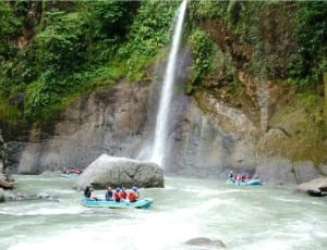 Pacuare River is a top whitewater rafting river in the world