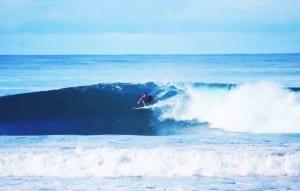 Surfing Santa Teresa, Costa Rica