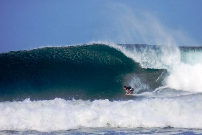 Big surf at Playa Guiones, image by VisitNosara.com