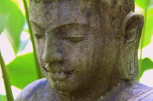 Buddha statue at Pranamar Villas