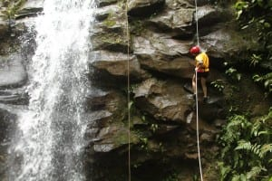 Canyoning with Explornatura