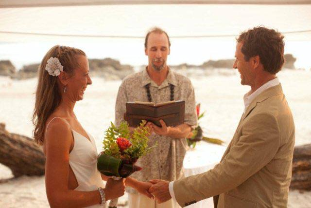 Wedding destination Santa Teresa Costa Rica
