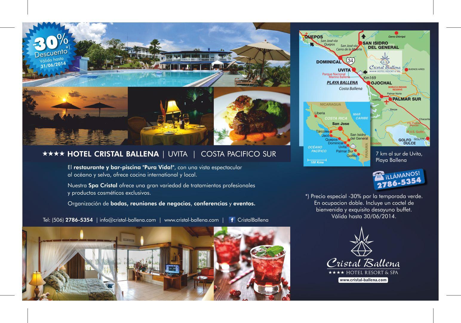 Descuento 30% Cristal Ballena Resort