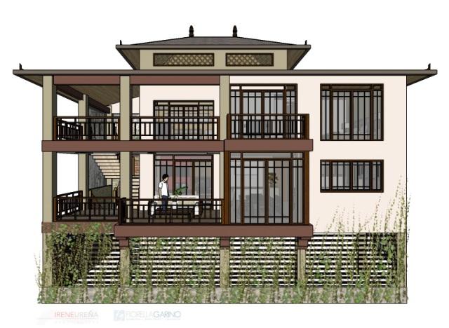Las Brisas home plan, Atenas Costa Rica