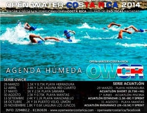 Open water Costa Rica schedule 2014