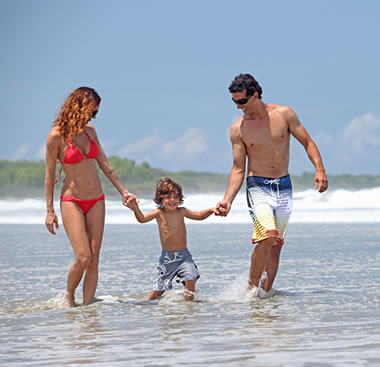 Family travel in Costa Rica